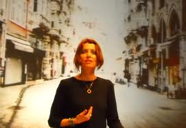 Elif Shafak speaking in Sophia, Bulgaria Photo courtesy of Tayna Tzvetkova