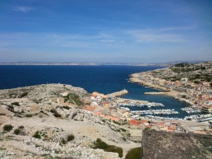The village of Les Goudes, Marseilles