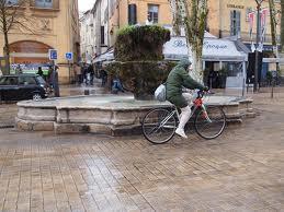 Rain in Aix