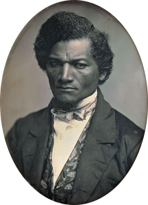 Frederick Douglass 1847 by Samuel J Miller (wikipedia)