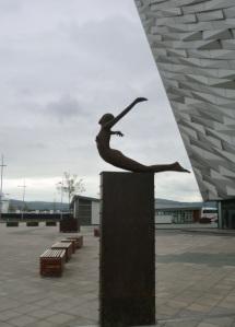 Entrance to Titanic Museum, Northern Ireland