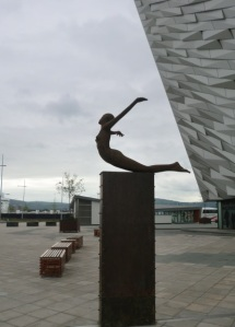 Entrance to Titanic Museum, Northern Ireland