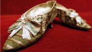 Marie Antoinette silk slippers