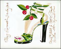 Shoe Cerise