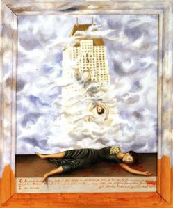 Suicide of Dorothy Hale by Frida Kahlo  Source : Wikipedia