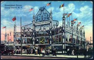 Dreamland Circus, Coney Island, New York  1917