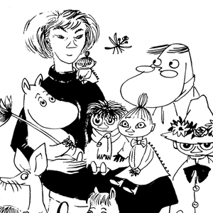 Tove Jansson and Her Moomintrolls © Moomin Characters™