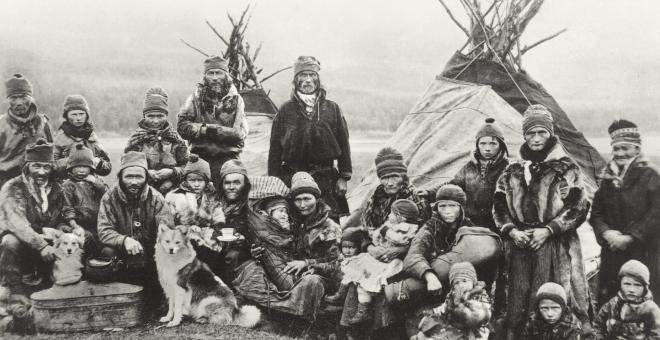Lapps or Laplanders circa 1900