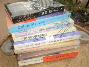 The 7 books I rescued from the Annual Library Sale!