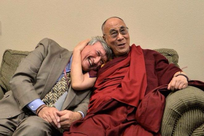 Dr James R.Doty, MD Stanford University and His Holiness The Dalai Lama