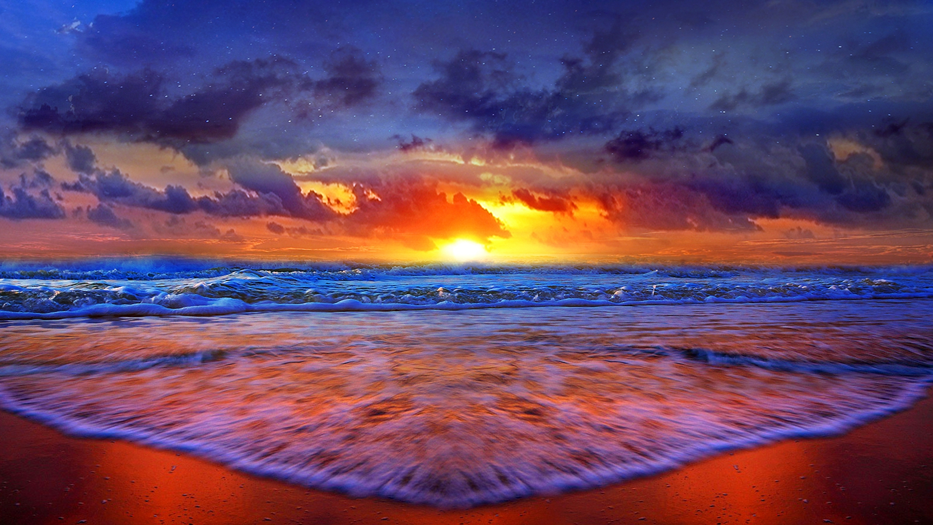 The Sunset Hd Desktop Background Word By Word