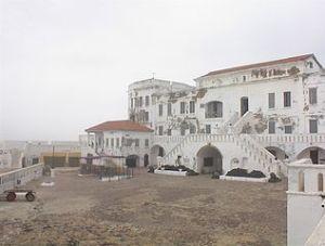 Cape Coast Castle (a slave trading castle), Ghana