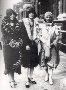 Three Harlem Renaissance Women 1925
