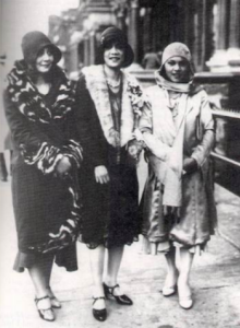 Three Harlem Renaissance Women 1925