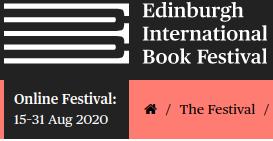 Edinburgh Book Festival Online 2020