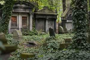graveyard shift cemetery ghostly presence