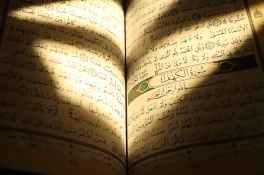 a book in arabic writings